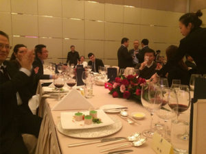 Almaviva is part of the World Wine.com dinner in Beijing
